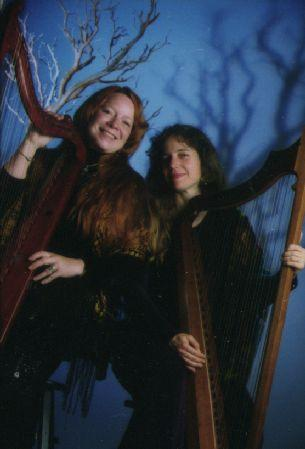 Spookytree Celtic Harp Duo